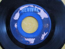 GOSPEL 45: THE PILGRIM WONDERS on REVIVAL New Born Soul/He Never Failed