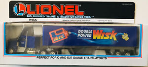 Lionel Tractor and Trailer Wisk Diecast O/027 Gauge TRAIN LAYOUTS