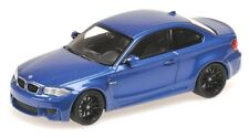 Bmw 1 series m Coupe 2011 1/43 Minichamps (Monte Carlo Blue)