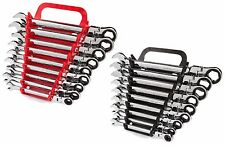 Tekton 18-Piece Flex-Head Ratcheting Combination Wrench Set WRN57067 WRN57167