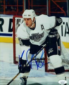 Rob Blake Los Angeles Kings Signed 8x10 Glossy Photo JSA Authenticated