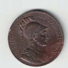 1791 HALFPENNY SOUTHAMPTON GREAT BRITAIN PAYABLE AT OFFICE W TAYLOR & R.V. MOODY