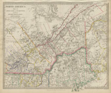 Maine 1800-1899 Date Range Antique North America River Maps for sale ...
