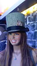 Ladies Top Hat -Gothic -cosplay -Victorian -bridal -burlesque -weddings -formal