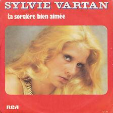 """7"""" 45 TOURS FRANCE SYLVIE VARTAN """"Ta Sorcière Bien Aimée / Souvenirs"""" 1976"""