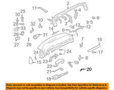 AUDI OEM 98-11 A6 Quattro Instrument Panel Dash-Knee Bolster Bracket 4B0863096