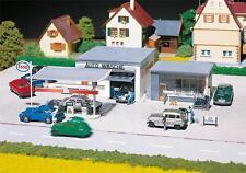 Faller 130296 H0 Tankstelle mit Waschhalle