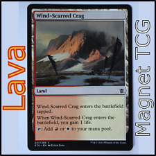 MTG Magic The Gathering - Wind-Scarred Crag - Khans of Tarkir