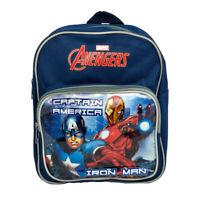 Marvel Mochila Avengers Mochila Oficial Ironman Y Capitán América Escuela 1072