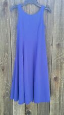 Cousin's Concert Attire Sleeveless Blue Dress Size 10 Youth (A52)