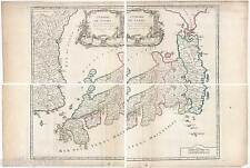 VAUGONDY, GILLES ROBERT de-Japan-Korea-Nihon/Nippon-Asien-Asia Map-Karte 1750