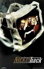 MUSIC POSTER~Nickelback Chad Kroeger Band Members Original Print Rock 'N Roll~