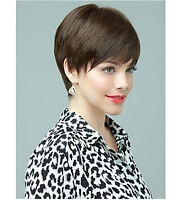 Hot Europe Sexy Women Heat Resistant Short Straight Cosplay Party Hair Full Wig