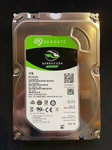 disque dur 1 To , 3.5 pouce , sata ,  Seagate Barracuda 6 gbits/s 7200 rpm