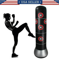 Adult Inflatable Free Standing Punching Bag Training Fitness Sport Stress Boxing