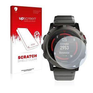 Garmin fenix 5X Plus (51mm) , upscreen® Scratch Clear Premium Screen Protector