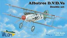 Valom 1/144 Model Kit 14406 Albatros D.V/D.Va Dual Combo (2 x kits in box)