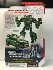 SERGEANT KUP Transformers Prime Robots in Disguise Unopened/Sealed USA Seller