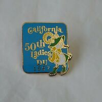 California 50th Ladies DU Lapel Hat Pin Ducks Unlimited Waterfowl Conservation