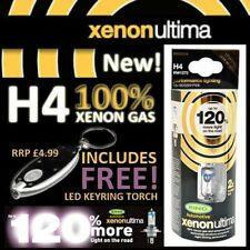 AUDI 80 (B3) Quattro 86-91 RING XENON ULTIMA H4 HEADLIGHT BULBS NEW!