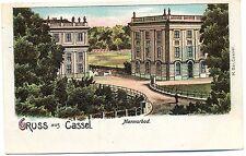 Cassel / Kassel, Marmorbad, Farb-Litho, Stempel 10.10.10