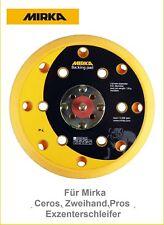 Mirka Schleifteller Klett 150 mm medium für Ceros,Zweihand,Pros Exzenter