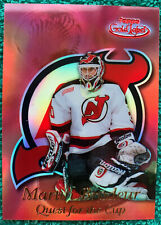 1999-00 Topps Gold Label ~ Martin Brodeur Quest For The Cup Red #QC5 19/25 RARE