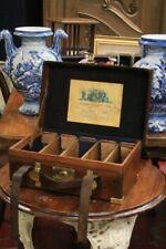 ' Guns, Pistols & Rifles' Suitcase English, Leather, Period '800 / Antique