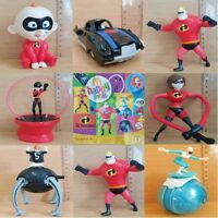 McDonalds Happy Meal Toy 2004 The Incredibles Plastic Toys - Various Characters