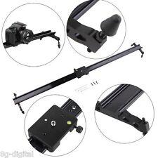 """Pro 31"""" 80cm camera track slider dolly video stabilizer system For DSLR Camcorde"""