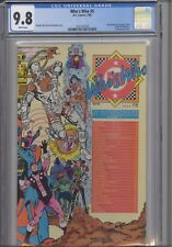 "Who's Who #5 CGC 9.8 1985 ""C"" Titles  DC Comic Wrap-a-round Cover New Frame"