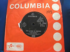 CLIFF RICHARD - SING A SONG OF FREEDOM - Columbia 8836