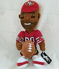 """Jerry Rice Soft Plush Doll 1999 NFL Properties Highlights Series IV Tag 12"""" 49er"""