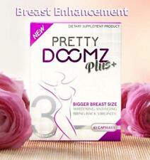 PRETTY DOOMZ PLUS Breast Enhancement Whitening Skin 45 Capsules