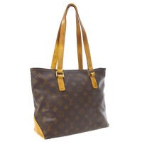 LOUIS VUITTON CABAS PIANO HAND TOTE BAG DU0072 PURSE MONOGRAM M51148 A54497