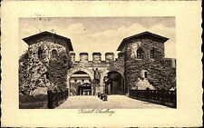 Kastell-Saalburg b. Homburg 1925 Porta Decumana AK Burg Tor Castle Postcard