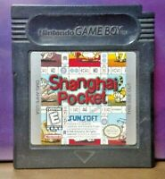 Shanghai Pocket  Game Boy Color GB Rare TESTED GBA Advance GBC Nintendo