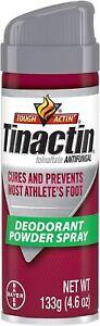 Tinactin Antifungal Deodorant Powder Spray 4.60 oz