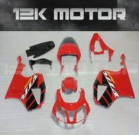 RED /& BLACK CUSTOM FITS HONDA VTR RVT 1000 SP1 RC51 FRONT LEATHER SEAT COVER