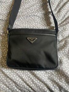 Prada Nylon Crossbody / Messenger Bag