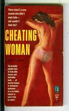 CHEATING WOMAN by Gooch, Beacon Book #B369 sleaze gga pulp vintage pb