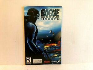 Rogue Trooper PS2 MANUAL ONLY Authentic Original