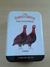 Vintage The Famous Grouse Collectable Tin (small) Empty