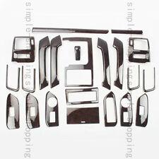 22X Inner Trim Kit Full Set Cover Agate Color Fit For Toyota Prado FJ150 10-16