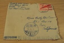 1945 WWII 'End of JAPANESE War' SAILOR 8 Page Letter~AMAZING Commentary~