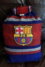 FC BARCELONA Mexican Backpack handmade aztec tote bag