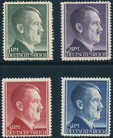 Stamp Germany Mi 799-802 Sc 524-7 1941 WW2 Fascism War Hitler War Set MNH