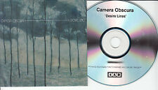 CAMERA OBSCURA Desire Lines UK 12-trk numbered/watermarked promo test CD 4AD