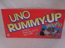 UNO Romme up Mattel Spiele 1993 rummyup R10601 Vintage