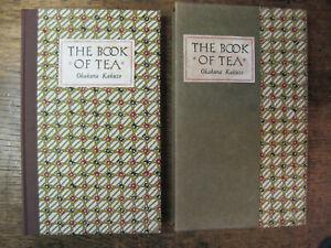 THE BOOK OF TEA.Okakura Kakuzo,1957,Beautiful Tuttle Public.Slipcase,Nr.Fine.
